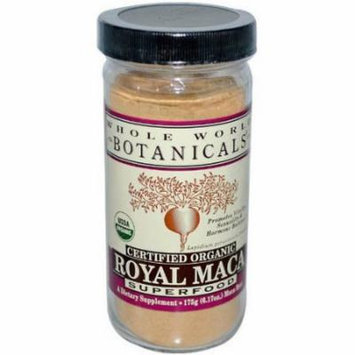 Whole World Botanicals Botanicals Herbs Organic Royal Maca Extract Powder, 1 CT