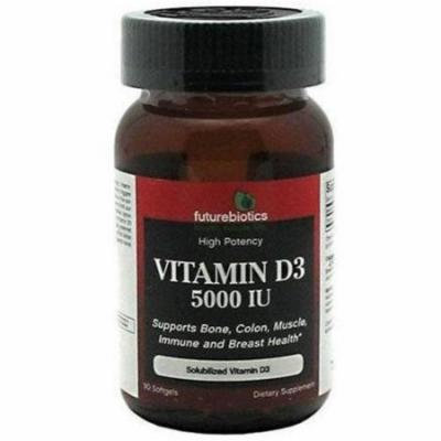 Futurebiotics Vitamin D3 Softgel Capsules, 90 CT