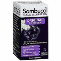 Sambucol Black Elderberry Original Formula, chewable Tablets, 30 CT