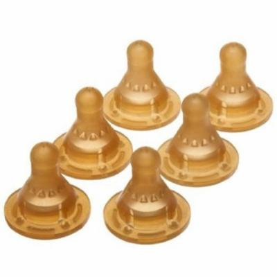 Gerber First Essential 12 Pack Latex 3 Hole Nipples