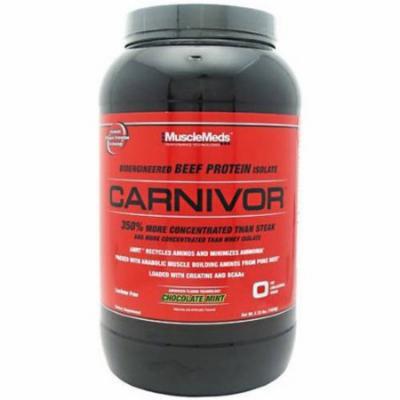 Muscle Meds Carnivor, Chocolate Mint, 2.25 LB