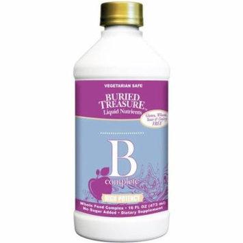 Buried Treasure B Complete Vitamins Liquid, 16 FL OZ