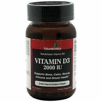 Futurebiotics Vitamin D3 Softgel Capsules, 120 CT