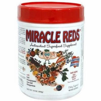 Macro Life Naturals Miracle Reds Canister Super Food Supplement, 30 OZ