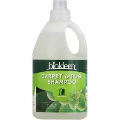 Bi-O-Kleen Carpet & Rug Shampoo, Concentrated, 64 FL OZ