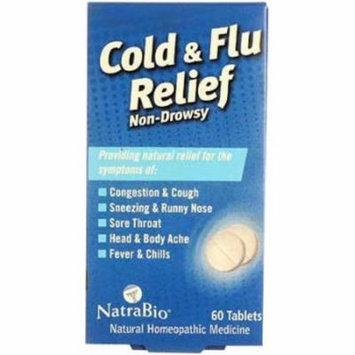 Natra Bio Cold and Flu Relief, 60 CT