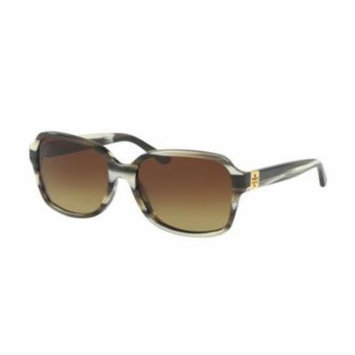 TORY BURCH Sunglasses TY7098 105013 Olive Horn 55MM