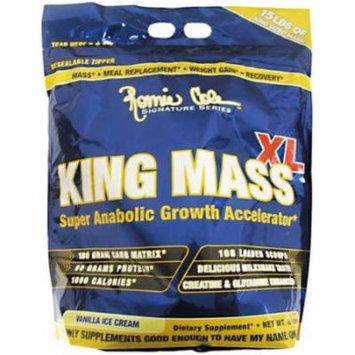 Ronnie Coleman King Mass XL, Vanilla Ice Cream, 15 LB