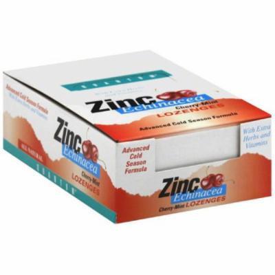 Quantum Zinc Echinacea Lozenges, Cherry-Mint, 1 CT (Pack of 12)