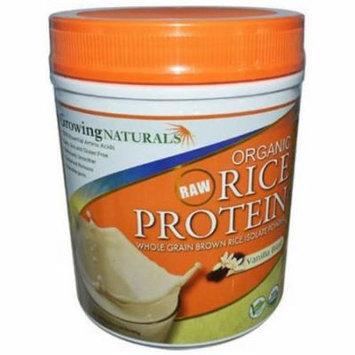 Growing Naturals Organic Rice Protein Isolate Vanilla Blast, 12 CT