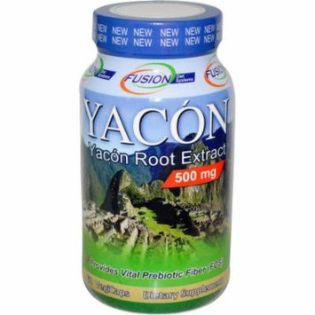 Fusion Diet Systems Yacon Root Extract Dietary Supplement, 60 CT