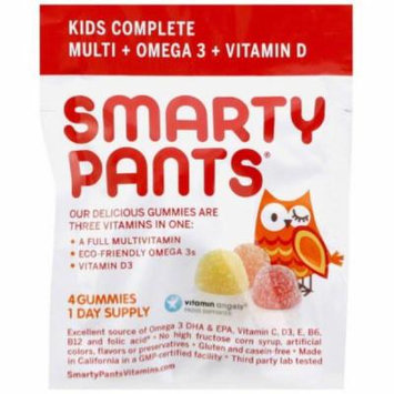 Smarty Pants Multivitamin - Complete - Gummy - Kids, .46 OZ (Pack of 15)