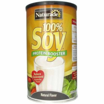 Naturade 100% Soy Protein Booster Natural Flavor, 14.8 OZ