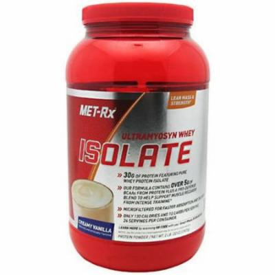 Met-Rx Ultramyosyn Whey Isolate, Creamy Vanilla, 2 LB