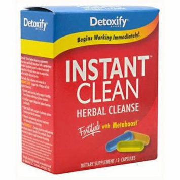 Detoxify Instant Clean, 3 CT