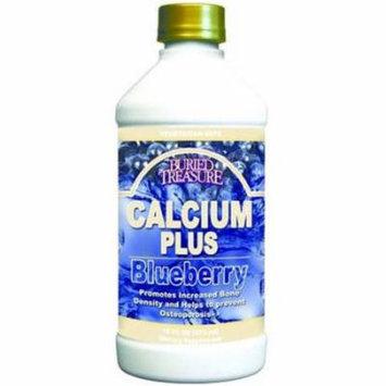 Buried Treasure Calcium Plus Blueberry Vitamins, 16 OZ