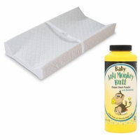 Summer Infant Contoured Changing Pad with Anti-Monkey Butt Diaper Rash Powder