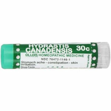 Ollois Homeopathic Medicine - Hydrastis Canadensis 30C Pellets, 80 CT (Pack of 2)