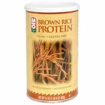 MLO Brown Rice Protein Powder, 24 OZ