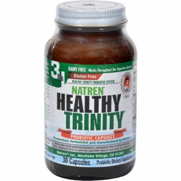 Natren Healthy Trinity Dairy Free Capsules, 30 CT