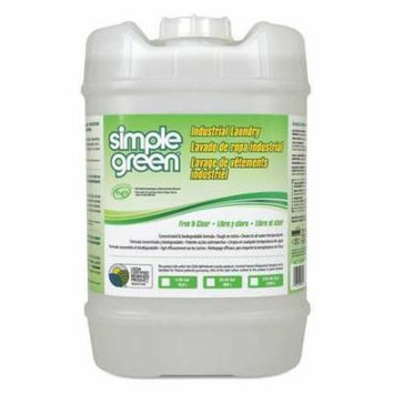 SIMPLE GREEN 1580100103005 Liquid Laundry Detergent,Pail,5 gal. G3728098