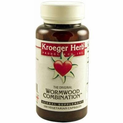 Kroeger Herb Wormwood Combination, Vegetarian Capsules, 100 CT