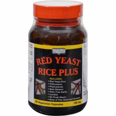 Only Natural Red Yeast Rice Plus, 60 CT