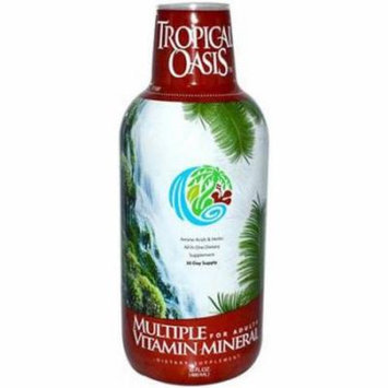 Tropical Oasis Multiple Vitamin/Mineral with Amino Acids and Herbs, 16 FL OZ