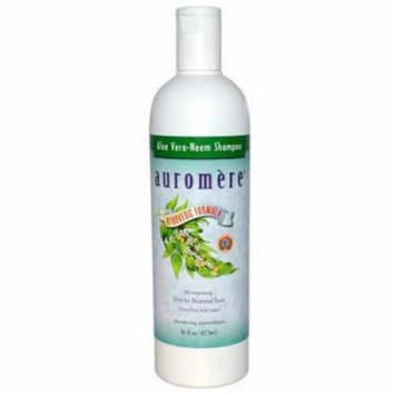 Auromere Ayurvedic Aloe Vera Neem Shampoo, 16 FL OZ