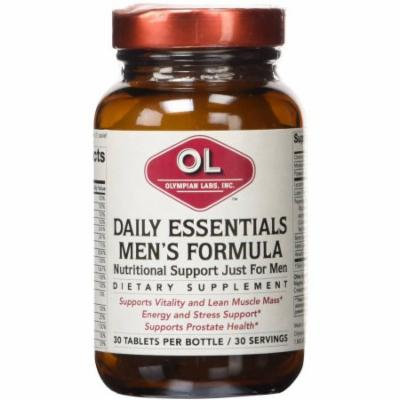 Olympian Labs Daily Essentials Men's Formula, 30 CT