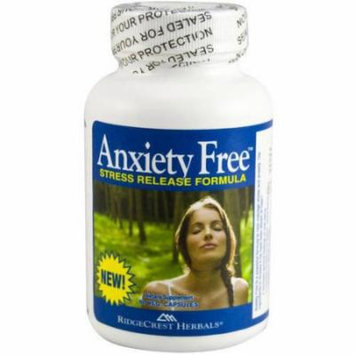 Ridgecrest Herbals Anxiety Free Stress Release, 60 CT
