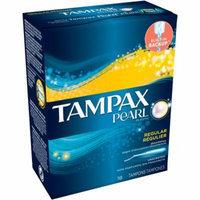 Tampax Pearl Plastic Regular Unscented Tampons