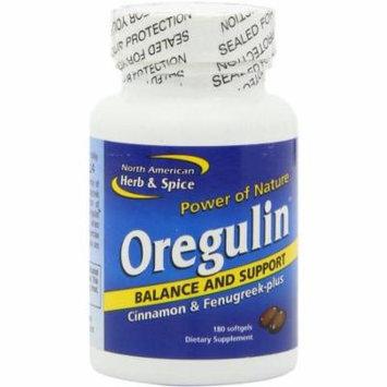North American Herb & Spice Oregulin Gel-Capsules, 180 CT