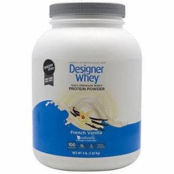 Designer Whey Protein Powder, French Vanilla, 4.4 LB