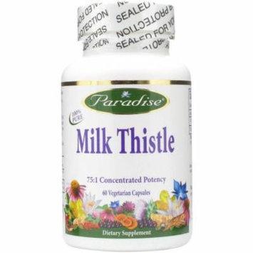 Paradise Herbs Milk Thistle 75:1 Full Spectrum, 60 CT