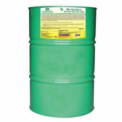 RENEWABLE LUBRICANTS 82486 Gear Oil,Drum,Yellow,55 gal. G2223877
