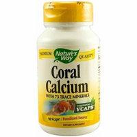Nature's Way Coral Calcium Vegetarian Capsules, 90 CT