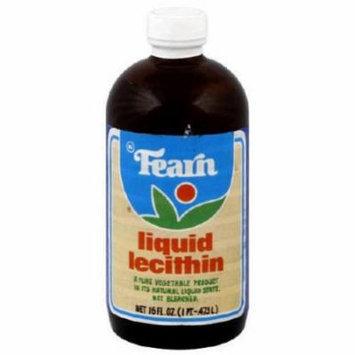 Fearn Liquid Lecithin, 16 FL OZ (Pack of 12)