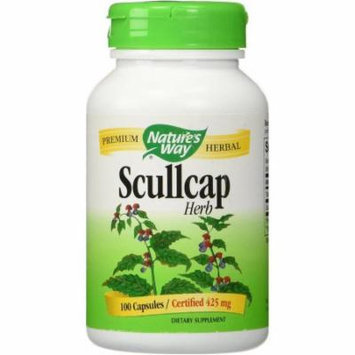 Nature's Way Scullcap Herb Capsule, 100 CT