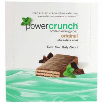 Power Crunch Protein Bar, Original Chocolate Mint , 40 GM (Pack of 12)