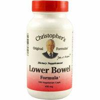 Christopher's Original Formulas Lower Bowel Formula, 100 CT