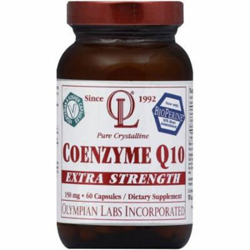 Olympian Labs Coenzyme Q10, Pure Crystalline, Extra Strength, 150 mg, Capsules, 60 CT