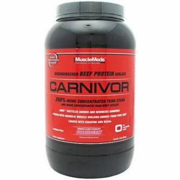 Muscle Meds Carnivor, Strawberry, 2 LB