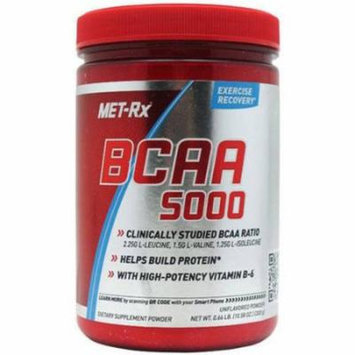 Met-Rx BCAA Powder, Unflavored, 300 GM