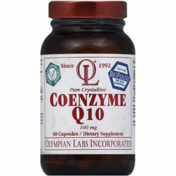 Olympian Labs Coenzyme Q10, 100 mg, Vegetable & Kosher Capsules, 60 CT