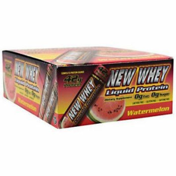 New Whey Liquid Protein, Watermelon, 12 CT