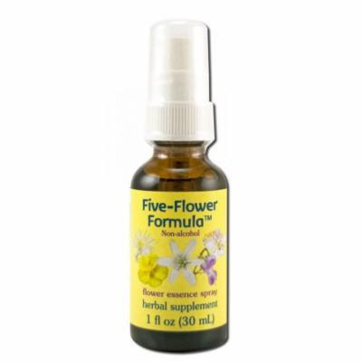 Flower Essence Services (FES) - Healing Herbs English Flower Essences, Five Flower Formula Spray Glycerin 1 oz