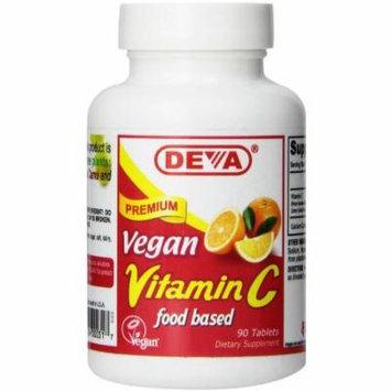 Deva Natural Vitamin C, Vegan, 90 CT