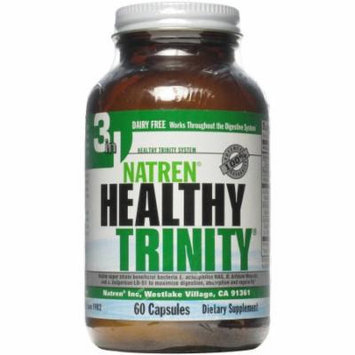 Natren Healthy Trinity Dairy Free Capsules, 60 CT