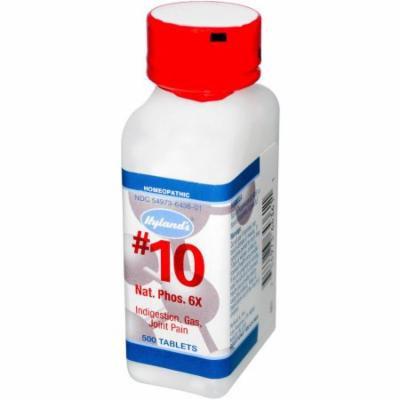Hylands #10 Natrum Phosphate 6x Tablet, 500 CT